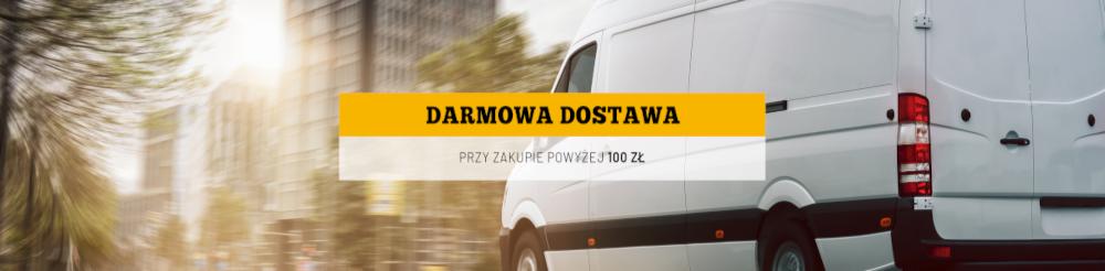 Darmowa dostawa od 100 zł