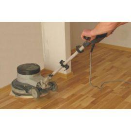 Doolejowanie maszynowe podłogi drewnianej olejowanej