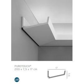 C352 listwa oświetleniowa 7,5 x 17 x 200 cm ORAC LUXXUS