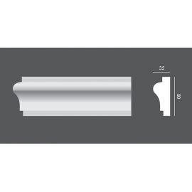 LP.006 profil elewacyjny drzwi i okien 8 x 3,5 x 150 cm EXTERIOR