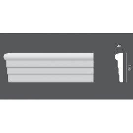 LP.017 profil elewacyjny drzwi i okien 14,6 x 4 x 150 cm EXTERIOR