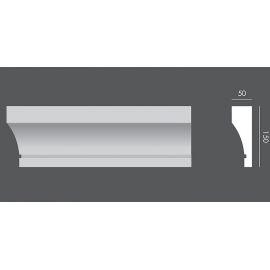 LP.020 profil elewacyjny drzwi i okien 15 x 5 x 150 cm EXTERIOR