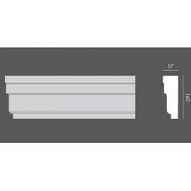 LP.027 profil elewacyjny drzwi i okien 16 x 5,7 x 150 cm EXTERIOR