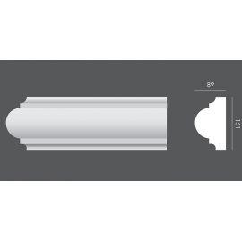 LP.035 profil elewacyjny drzwi i okien 15,1 x 8,9 x 150 cm EXTERIOR