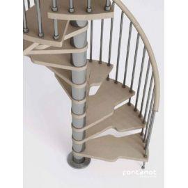 GENIUS 2:easy spiralne kacze na planie koła średnica 110 i 120 cm