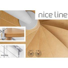 NICE Line Spiralne na planie koła