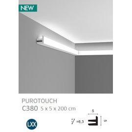 C380 listwa oświetleniowa 8 x 17,5 x 200 cm ORAC LUXXUS