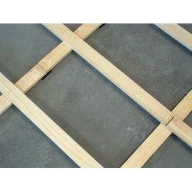 Montaż deski sportowej na konstrukcji z legarów