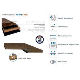 Hydrocork Sawn Bisque Oak B5P3002 panel Wicanders