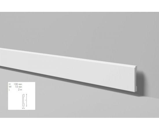 FD1 listwa przypodłogowa 10 x 1,5 x 200 cm Wallstyl NMC