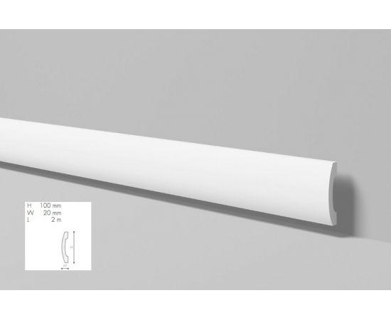 FD3 listwa przypodłogowa 10 x 2 x 200 cm Wallstyl NMC
