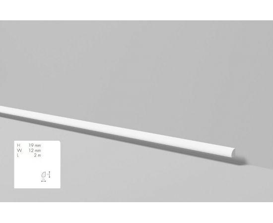 FL6 listwa przypodłogowa 1,9 x 1,2 x 200 cm Wallstyl NMC