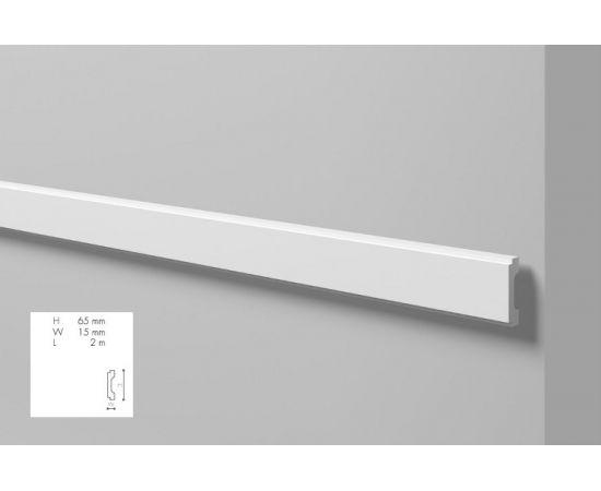 WD1 profil dekoracyjny 6,5 x 1,5 x 200 cm Wallstyl NMC