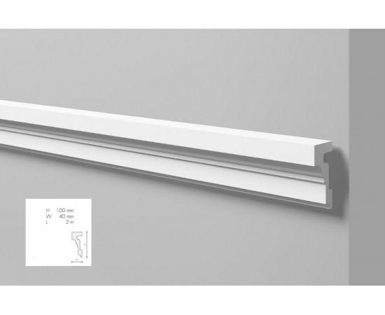 WL4 profil dekoracyjny 10 x 4 x 200 cm Wallstyl NMC
