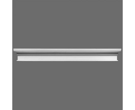D400 fronton 14 x 5,5 x 122 cm ORAC LUXXUS