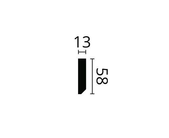 FT2 listwa multifunkcyjna 5,8 x 1,3 x 200 cm Wallstyl NMC