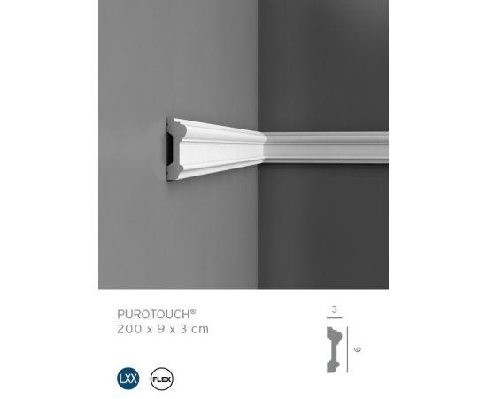P9010 profil dekoracyjny prosty 9 x 3 x 200cm ORAC LUXXUS