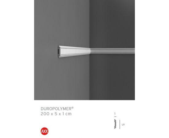 PX144F profil dekoracyjny gięty 5 x 1 x 200 cm ORAC AXXENT