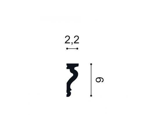 DX174 profil multifunkcyjny 2,2 x 6 x 230 cm ORAC AXXENT