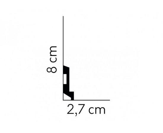 MD025P listwa multifunkcyjna lakierowana 2,7 x 11 x 200 cm MARDOM DECOR ELITE PREMIUM